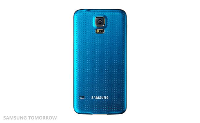 Galaxy S5 Broadband LTE-A Blue (Back)