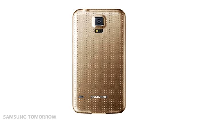 Galaxy S5 Broadband LTE-A Gold (Back)