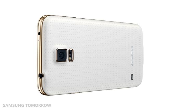 Galaxy S5 Broadband LTE-A (Gold Bezel)