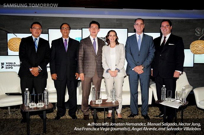 Jonatan Hernandez, Manuel Salgado, Hector Jung, Ana Francisca Vega, Angel Alverde, and Salvador Villalobos