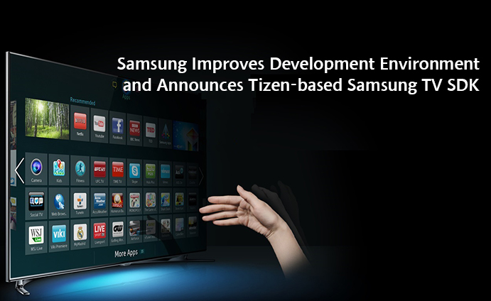 Samsung Smart TV Tizen SDK