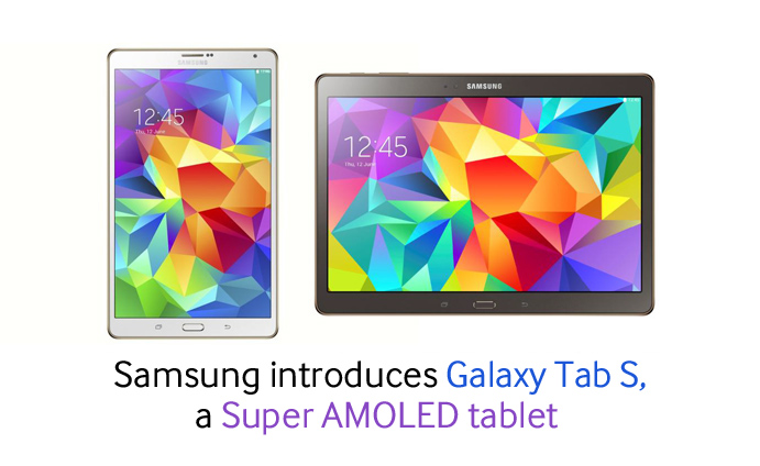 Samsung introduces Galaxy Tablet S, a Super AMOLED tablet