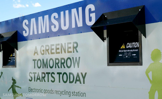 samsung a greener tomorrow starts today