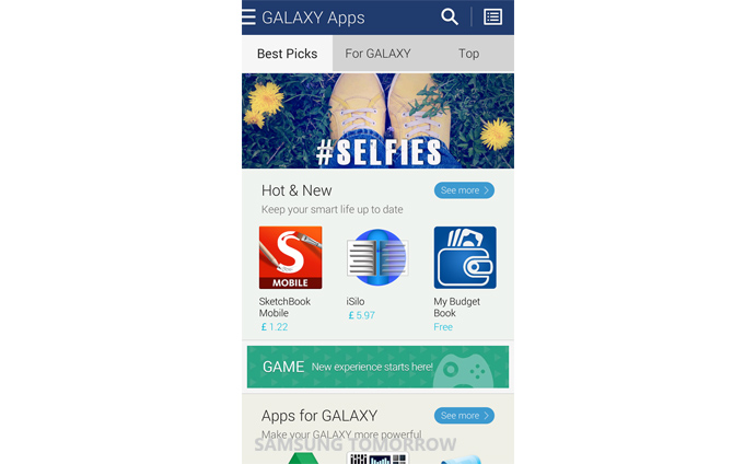 Samsung Electronics Launches Samsung GALAXY Apps
