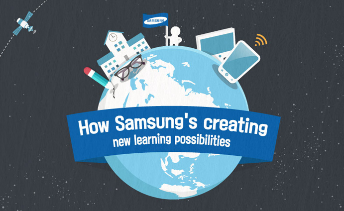 [Infographic] How Samsung's Creating New Learning Possibilities