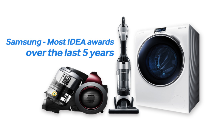 Samsung – Most IDEA awards over the last 5 years (2)
