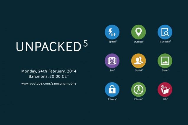 Invitation of Samsung Unpacked 2014 Episode 1
