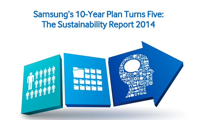 Samsung's 10-Year Plan Turns Five The Sustainability Report 2014