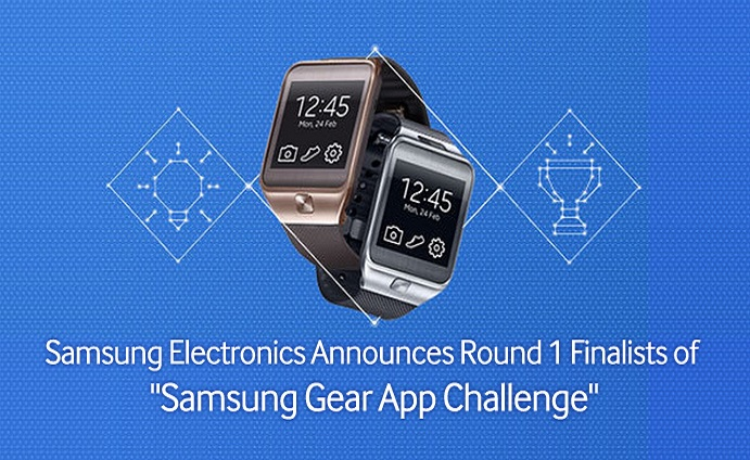 "Samsung-Electronics-Announces-Round-1-Finalists-of-""Samsung-Gear-App-Challenge"""