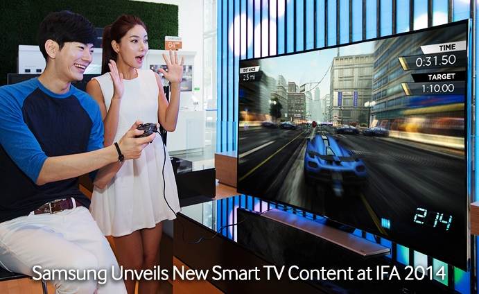 Samsung Unveils New Smart TV Content at IFA 2014