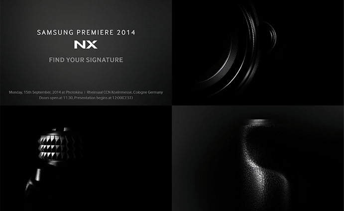 Samsung sends out another invitation for Post-IFA 2014 Samsung Premiere 2014 - NX at PHOTOKINA 2014