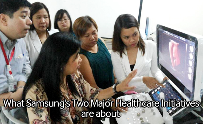 What Samsung's Two Major Healthcare Initiatives are about