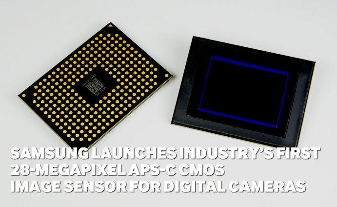 Samsung-Launches-Industry's-First-28-Megapixel-APS-C-CMOS-Image-Sensor-for-Digital-Cameras