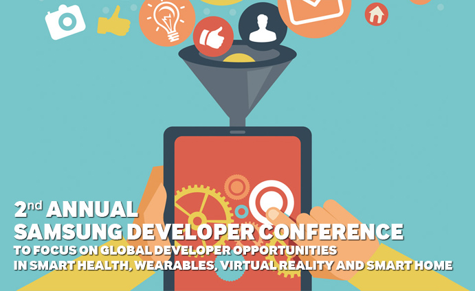 Second-Annual-Samsung-Developer-Conference-to-Focus-on-Global-Developer-Opportunities-in-Smart-Health,-Wearables,-Virtual-Reality-and-Smart-Home