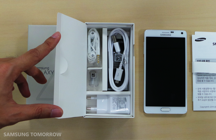 Unboxing the Galaxy Note 4_4