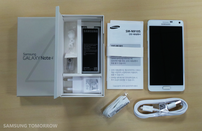 Unboxing the Galaxy Note 4_5