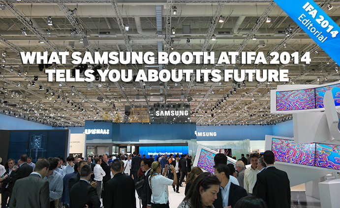 What Samsung Booth tells about its future