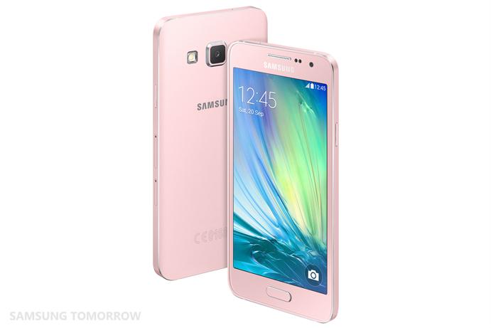 Galaxy A3_ Back_Pearl White (4)