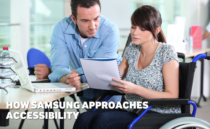 How Samsung approaches Accessibility