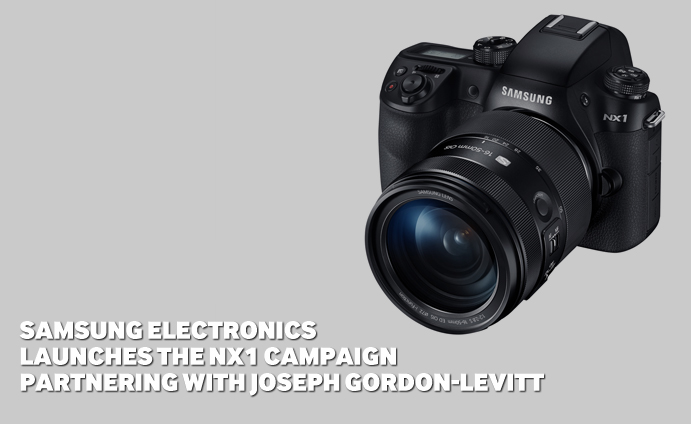 Samsung Electronics Launches the NX1 Campaign Partnering with Joseph Gordon-Levitt