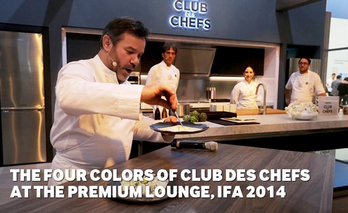 The-Four-Colors-of-Club-des-Chefs-at-the-Premium-Lounge,-IFA-2014