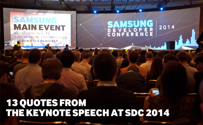 13 Quotes from the Keynote Speech at SDC 2014