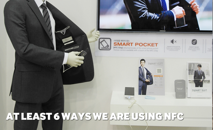At least 6 ways we are using NFC