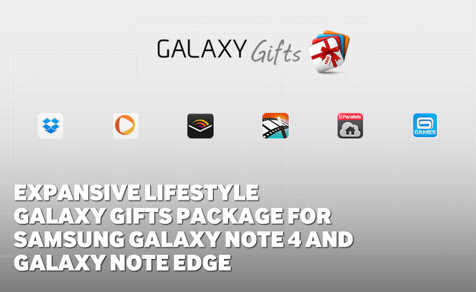 Expansive Lifestyle Galaxy Gifts Package for Samsung Galaxy Note 4 and Galaxy Note Edge