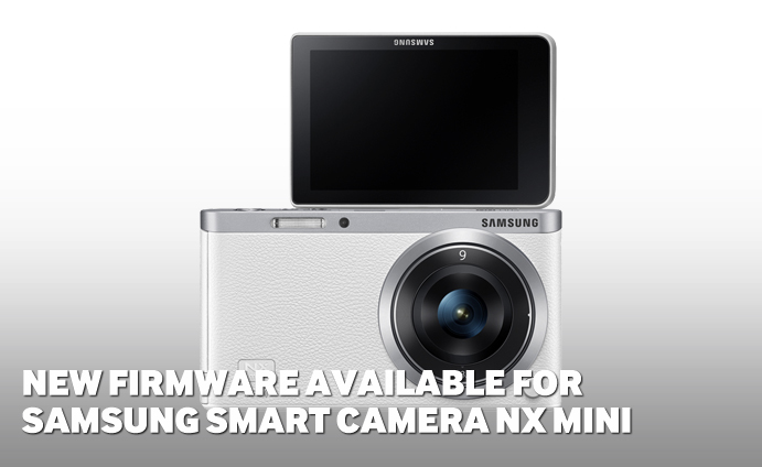 New firmware available for Samsung SMART Camera NX mini