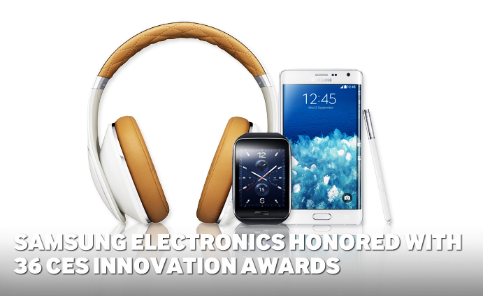 Samsung Electronics Honored with 36 CES Innovation Awards