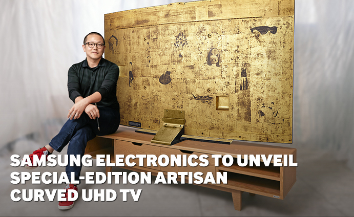 Samsung Electronics to Unveil Special-Edition Artisan Curved UHD TV