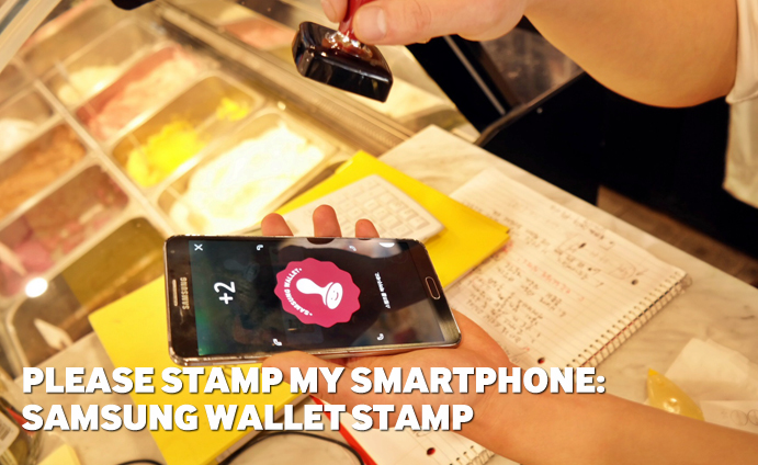 Please Stamp my smartphone: Samsung Wallet Stamp