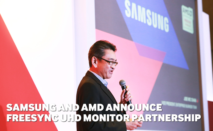 Samsung and AMD Announce FreeSync UHD Monitor Partnership