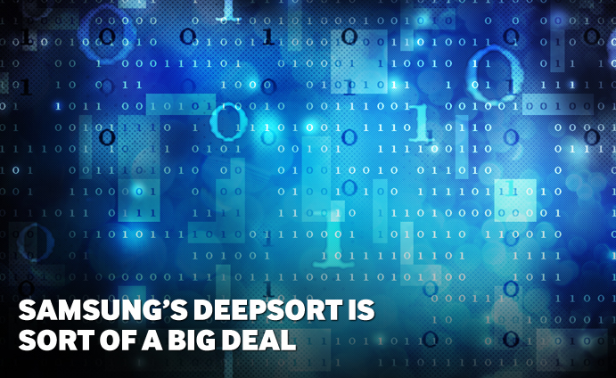 Samsung's DeepSort is Sort of a big deal