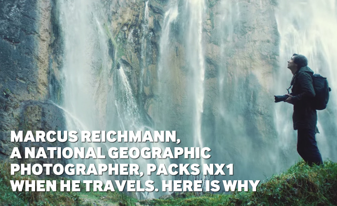Marcus Reichmann, A National Geographic Photographer, Packs NX1 When He Travels. Here is why
