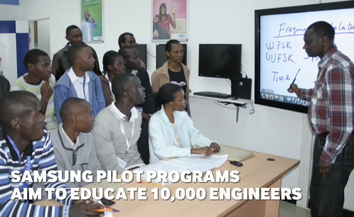 Samsung Pilot Programs Aim to Educate 10,000 Engineers