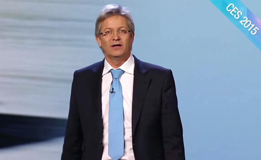 Guest Speakers at CES 2015 Opening Keynote – Elmar Frickenstein, BMW