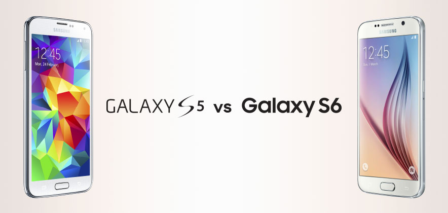 Spec Comparison: Galaxy S6 vs Galaxy S5 [Infographic]