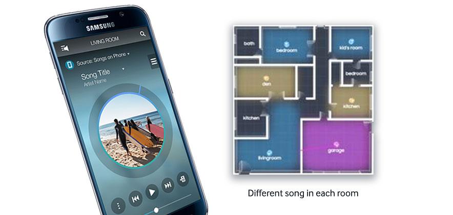 Samsung's New Multiroom App Delivers Enhanced Listening Experience