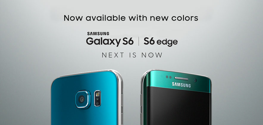 Blue Topaz Galaxy S6 and Green Emerald Galaxy S6 edge Set to Launch
