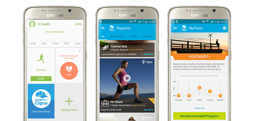 Samsung and Cigna Release New Health and Fitness Application