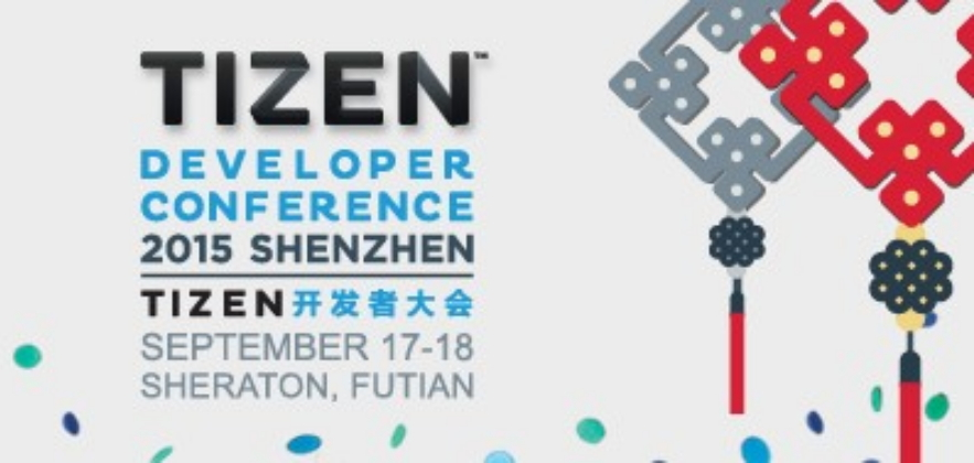 Tizen Developer Conference 2015 to be Held in Shenzhen on September 17-18