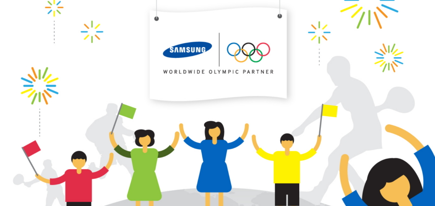 [Infographic] Samsung Powers 9 Consecutive Olympic Games