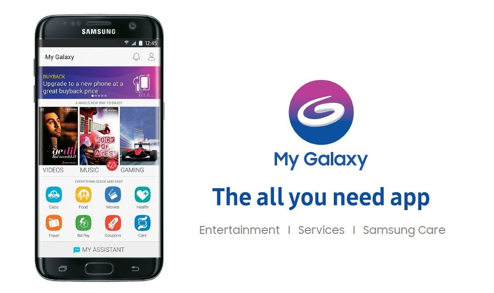 Samsung India Launches New My Galaxy, 'The All You Need App