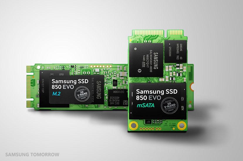 Samsung Electronics Introduces Lineup of 3-bit V-NAND Based 850 EVO