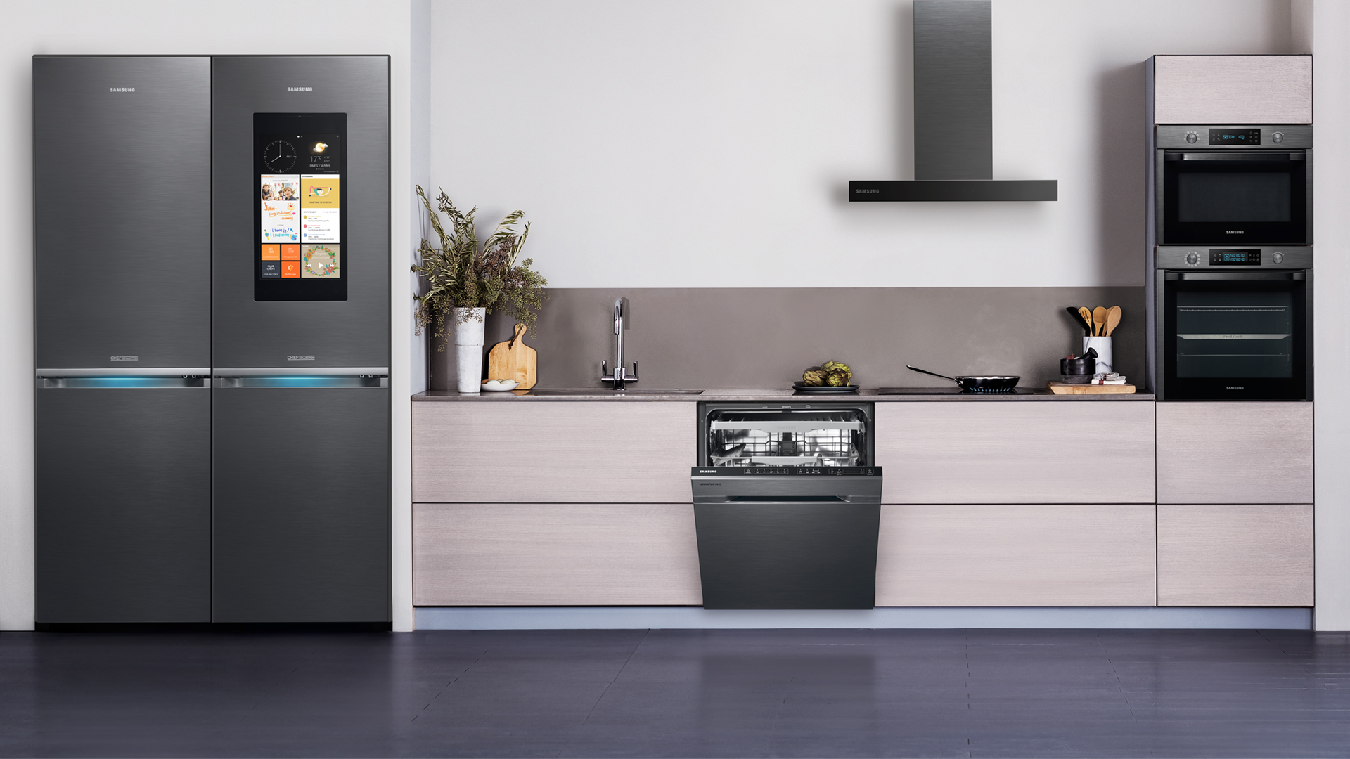 Samsung Unveils Three New Built In Kitchen Appliance Lineups Designed For The Contemporary European Consumer Samsung Newsroom Global Media Library
