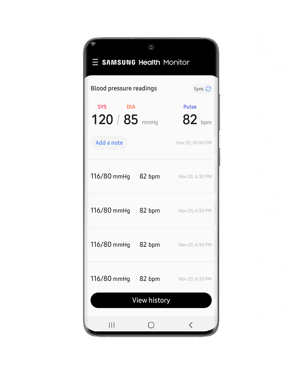 Samsung Launches the Samsung Health Monitor Application with Blood