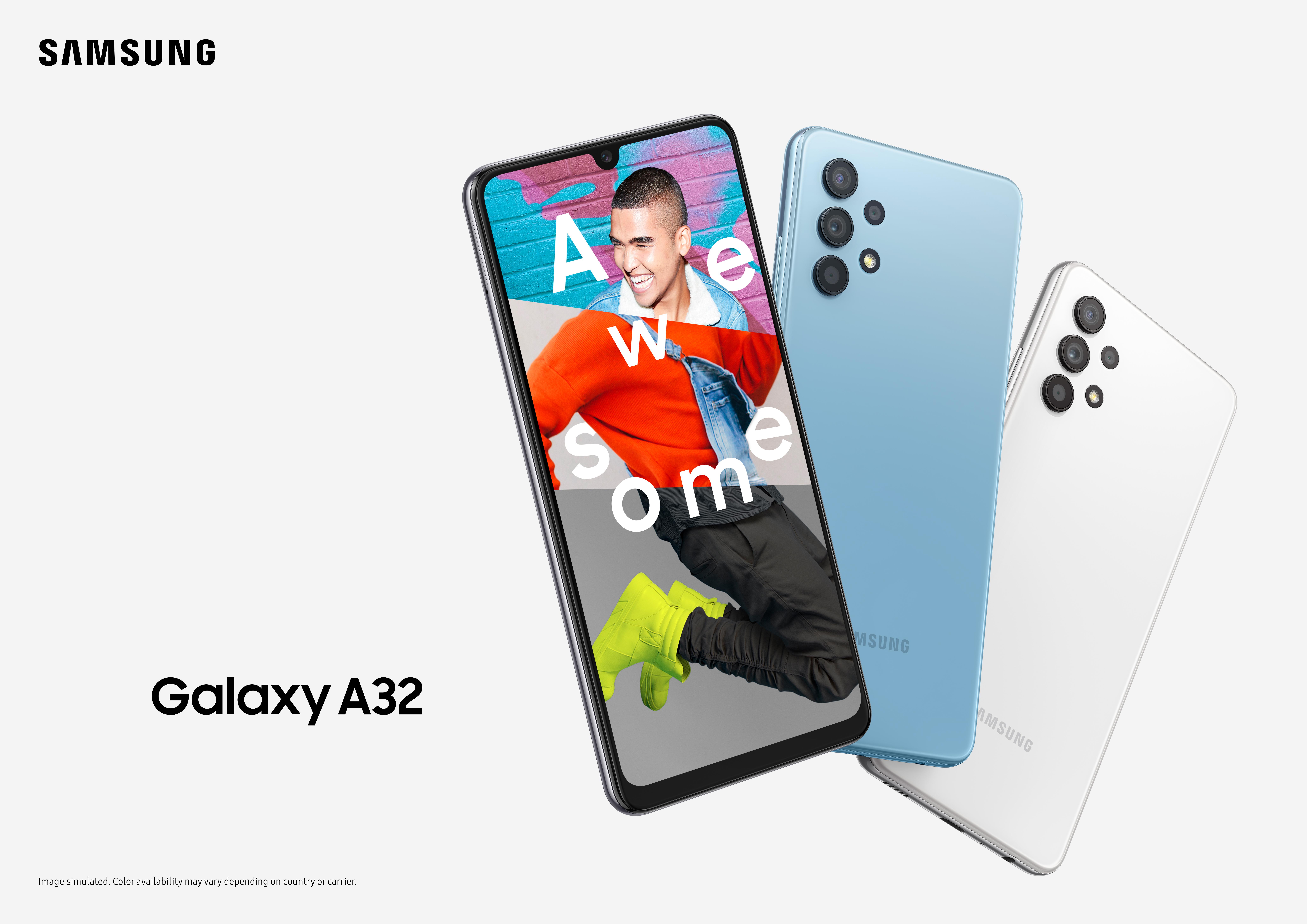Samsung представляет смартфон Galaxy A32